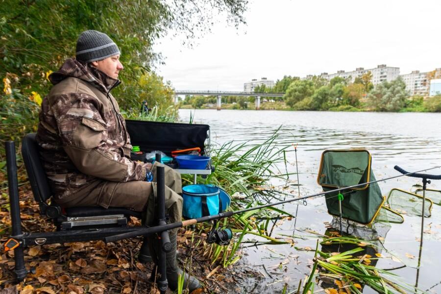 Соревнования по ловле донной удочкой провели в Орехово-Зуеве