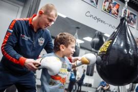 Федерация бокса взяла шефство над подопечными центра «Солнечный»
