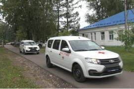 Два новых автомобиля поступили в Демиховскую больницу