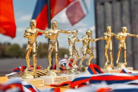 Открытые соревнования по боксу прошли в Парке Победы