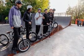 В Дрезне открыли скейт-площадку и провели соревнования