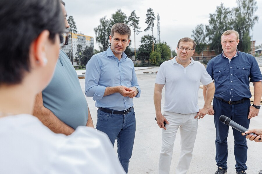 День города Ликино-Дулево отмечать будут в новом парке
