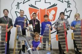 Ученики школы №1 победили в первенстве МО по авиамодельному спорту