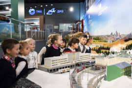 Более 60 первоклашек посетили Выставочный центр ДМЗ