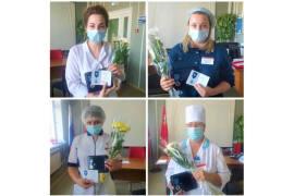 Ликинских медиков наградили за заслуги в борьбе с коронавирусом