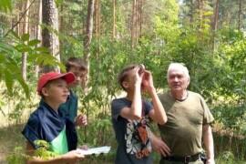 Старший участковый лесничий награждён ведомственным знаком отличия