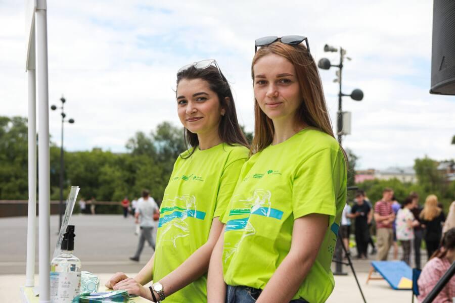 Зелёный марафон провели во Всемирный день защиты окружающей среды