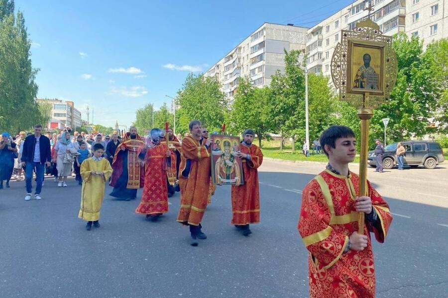 Никола летний — в Орехово-Зуеве состоялся крестный ход