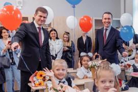 Михаил Хайкин посетил новый лицей в Ликино-Дулеве