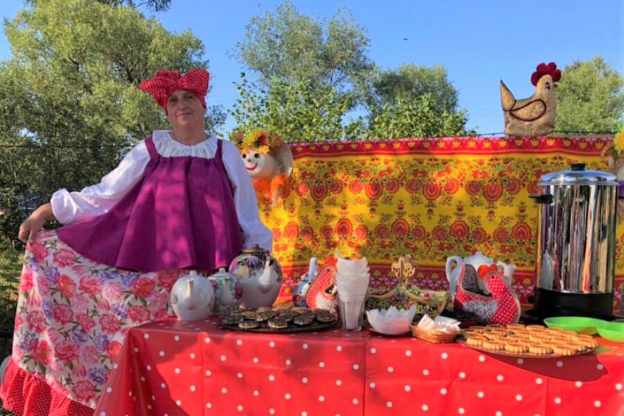 Красочное мероприятие организовали ко дню деревни Рудне-Никитское