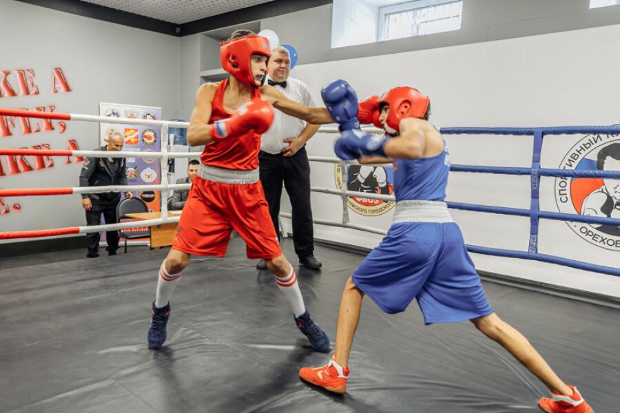 Об открытии центра прогресса бокса в Орехово-Зуеве