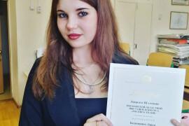 Дарья Бадамшина  победила в областном конкурсе «Роспись ткани»