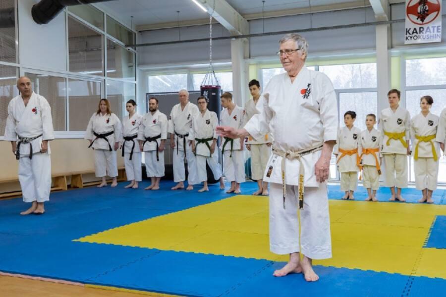 Орехово-Зуевский округ посетил основатель стиля фудокан карате до