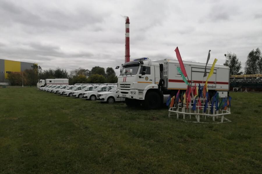 Орехово-Зуевское управление «Мособлпожспас» получило новый автомобиль