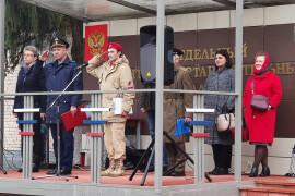 Юнармейцы округа приняли присягу Родине