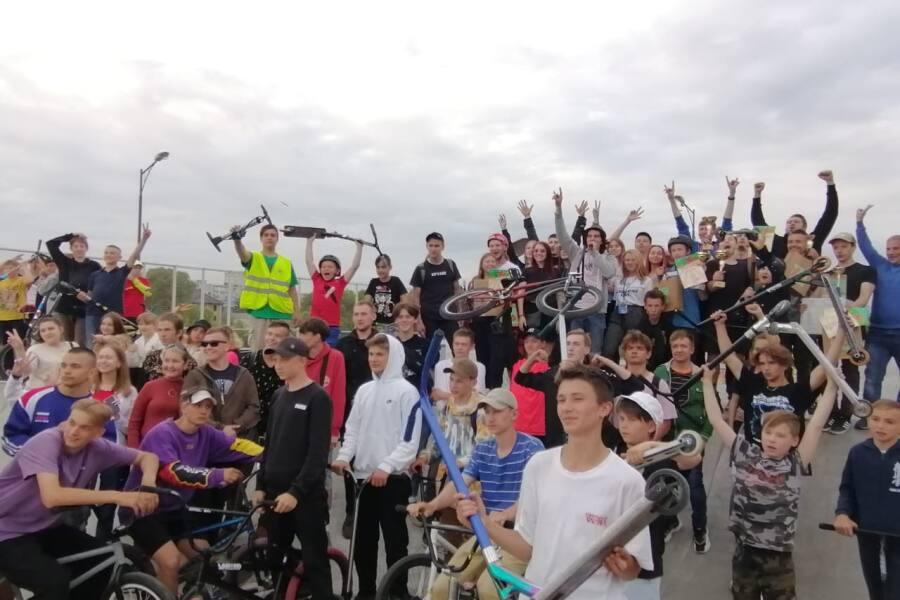 Соревнования по экстремальным видам спорта прошли в Орехово-Зуеве