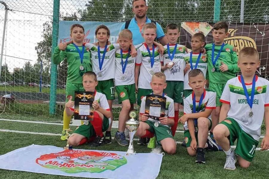 ФШ «Морозовец» заняла 2 место в турнире «Лига будущих чемпионов»