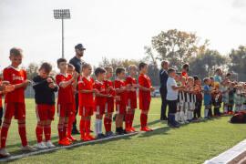 Футбольный турнир провели на «Знамени труда»