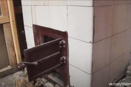 При ремонте Морозовской больницы обнаружили старинную печь