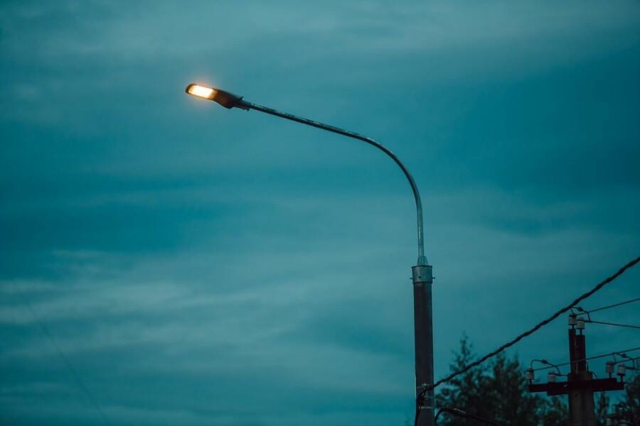 Устройство уличного освещения по проекту «Светлый город» завершено