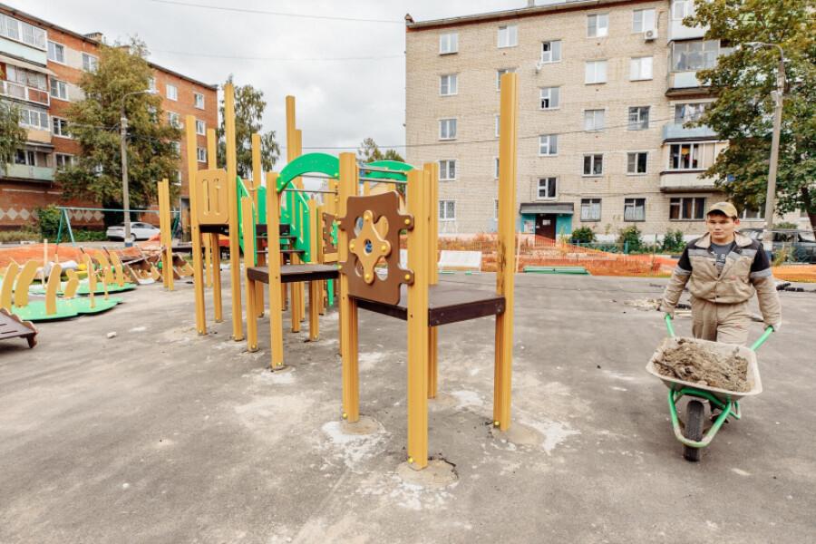 В деревне Давыдово реализуется сразу несколько областных программ
