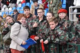 Юнармейцы показали высокие результаты в военно-патриотической игре