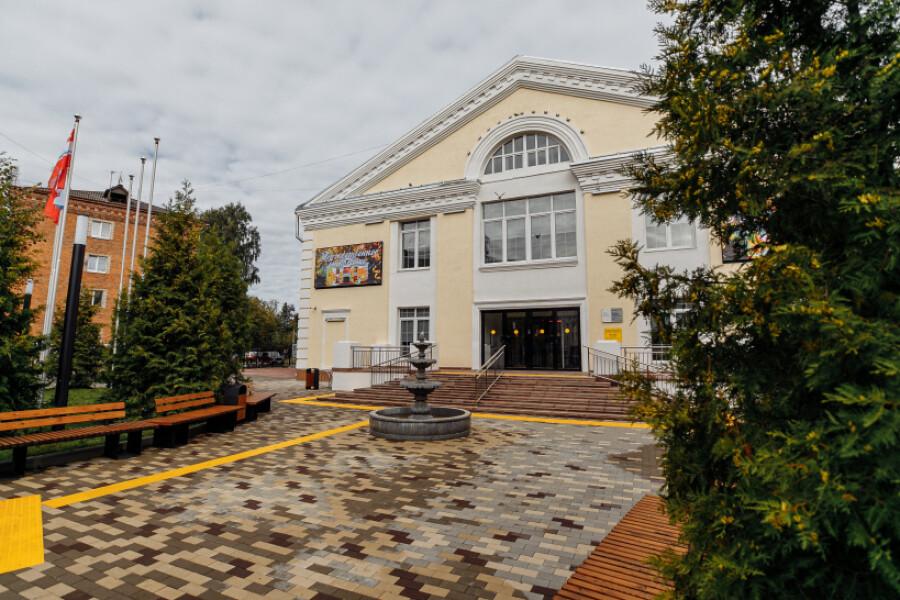 ДК на площади Пушкина открылся после капитального ремонта
