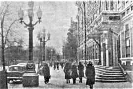 Когда рядом с Домом советов в Орехово-Зуеве установили фонари