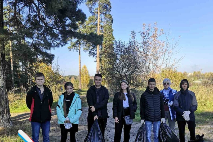 В округе прошла экологическая акция «Чистый лес»