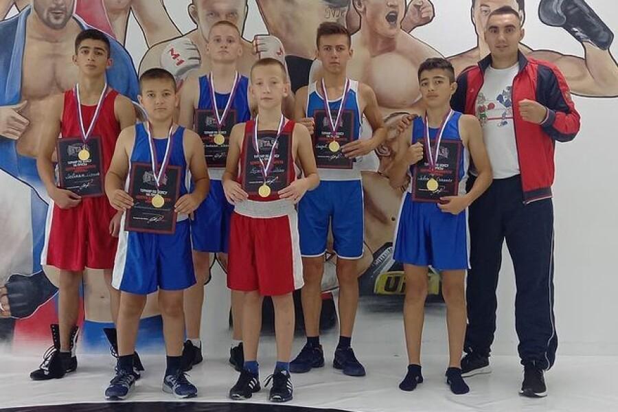 Наши боксеры завоевали 6 золотых медалей на открытом ринге