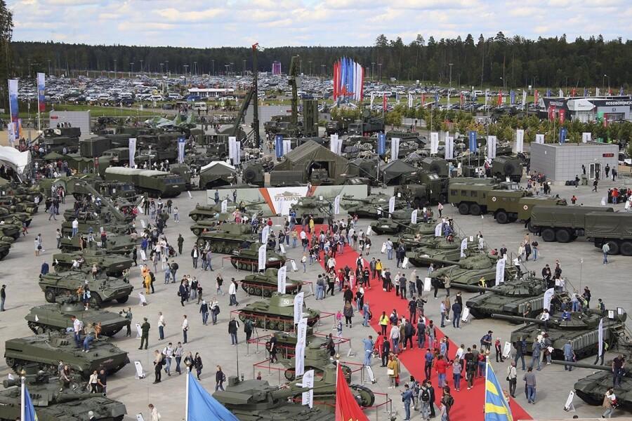 Международный военно-технический форум «Армия-2021» приглашает