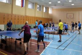 Василий Романов победил на турнире по настольному теннису