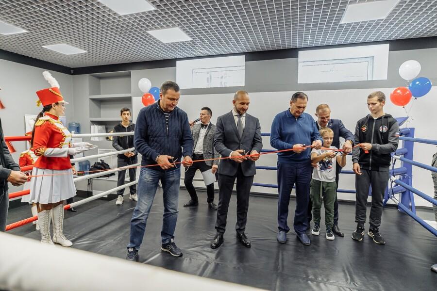 Школу бокса им. В.П. Агеева торжественно открыли в Орехово-Зуеве