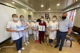 Новые аппараты для ингаляции поступили в Давыдовскую районную больницу