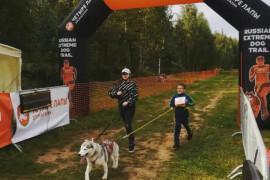 Юные ореховозуевцы приняли участие в экстремальном забеге с собаками