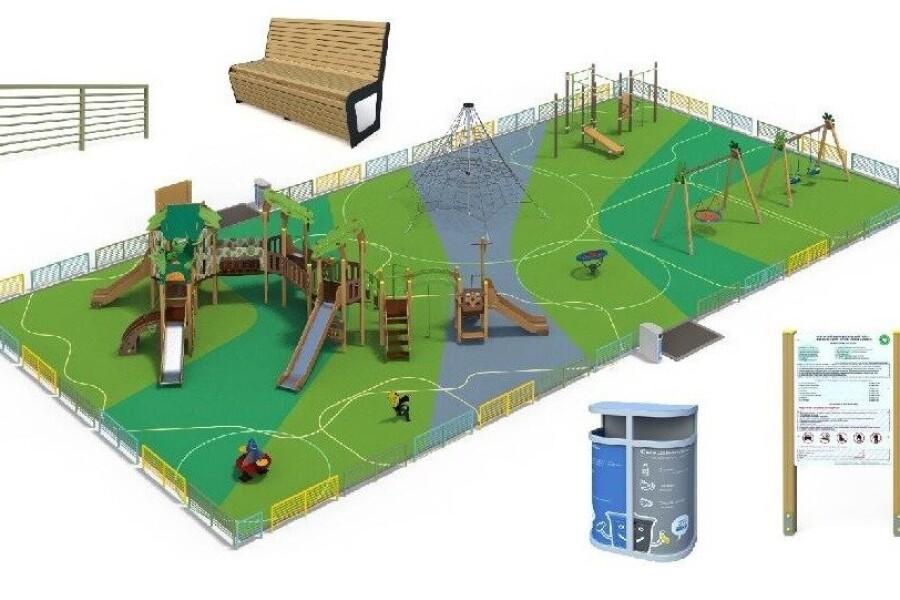 В округе установят 9 детских городков по программе Губернатора