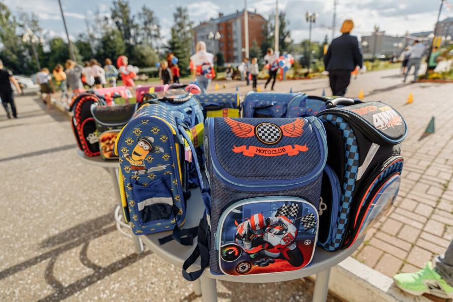 Первоклассникам Орехово-Зуевского округа вручили подарки к школе